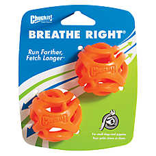 Chuckit!® Breathe Right® Fetch Ball Dog Toy - 2 Pack