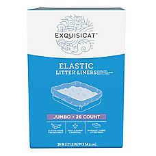 ExquisiCat™ Elastic Litter Liners - Jumbo