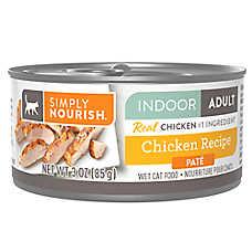 Simply Nourish® Indoor Pate Wet Cat Food - Natural