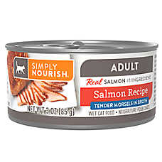 Simply Nourish® Morsels Wet Adult Cat Food - Natural