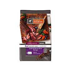 Simply Nourish® Small Breed Adult Dog Food - Natural, Lamb & Brown Rice