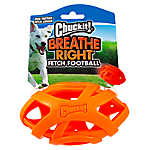 Chuckit!® Breathe Right® Fetch Football Dog Toy