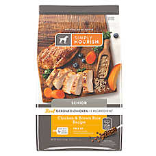 Simply Nourish® Senior Dog Food - Natural, Chicken & Brown Rice