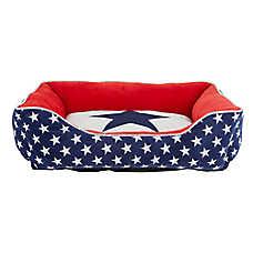 Top Paw® Americana Cuddler Pet Bed