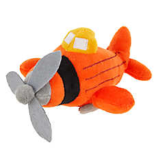 Top Paw® Airplane Dog Toy - Plush, Squeaker