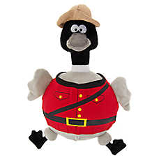 Top Paw® Canada Day Mounty Goose Ball Body Dog Toy - Squeaker
