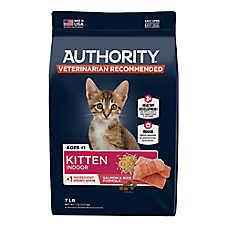 Authority® Everyday Health Indoor Kitten Dry Food - Salmon & Rice