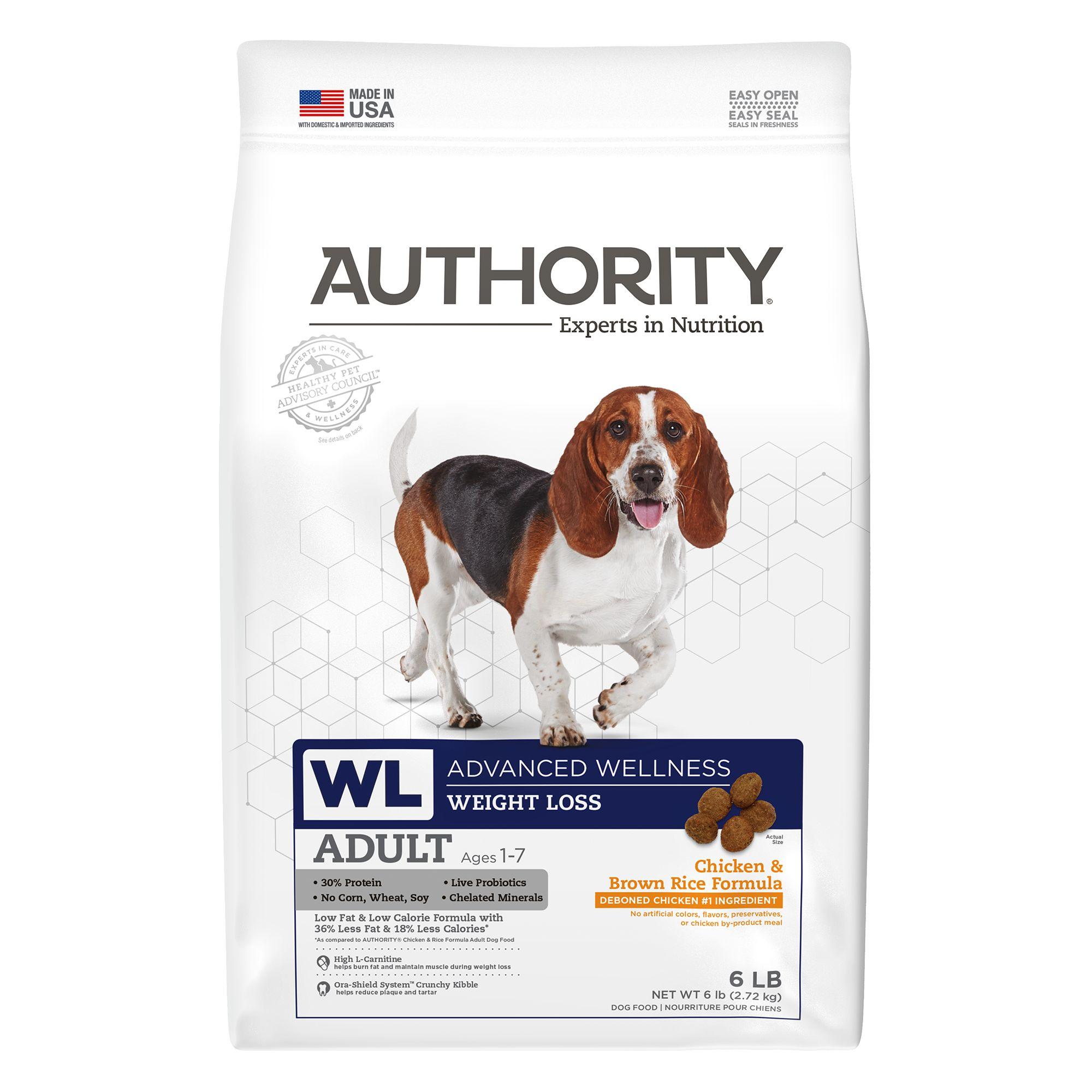 Weight loss dog food