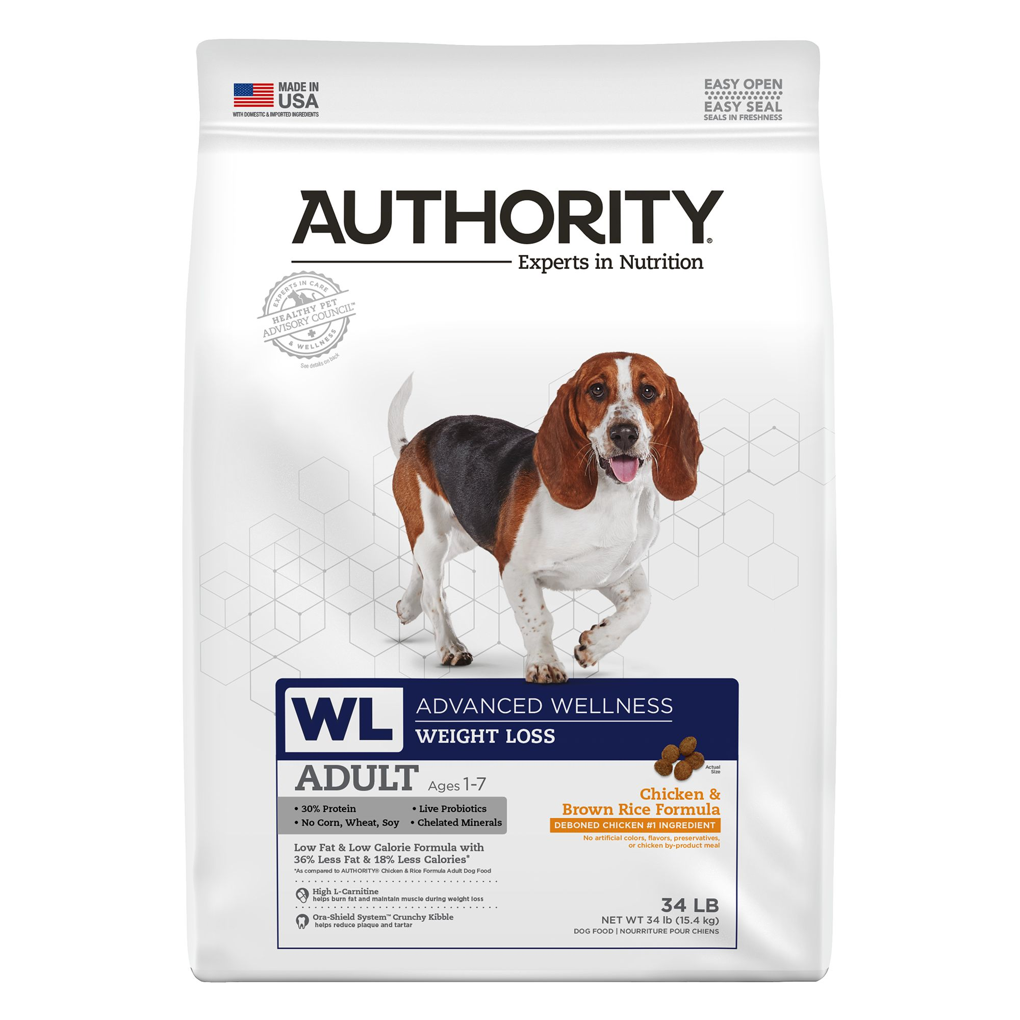 Authority Advanced Wellness Weight Loss Dog Food