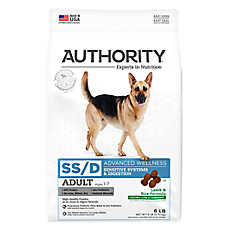 Authority® Advanced Wellness Sensitive Sytems Digestions Adult Dog Food - Lamb & Rice
