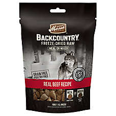 Merrick® Backcountry® Real Beef Recipe Adult Dog Food Mixer - Grain Free, High Protein, Raw