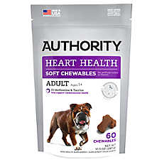Authority® Heart Health Adult Soft Dog Chews
