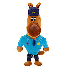 Top Paw® Police Dog Toy - Plush, Squeaker