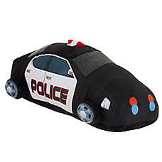 Top Paw® Police Car Dog Toy - Plush, Squeaker