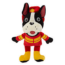 Top Paw® Firefighter Dog Toy - Plush, Squeaker
