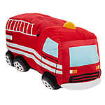 Top Paw® Fire Truck Dog Toy - Plush, Squeaker