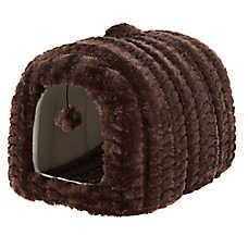 Whisker City® Cat Hide Hut Bed