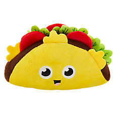 Top Paw® Taco Dog Toy - Plush, Squeaker