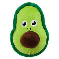 Top Paw® Avocado Dog Toy - Plush, Squeaker
