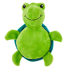 Top Paw® Turtle Dog Toy - Plush, Squeaker