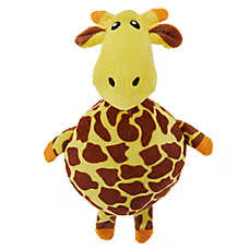 Top Paw® Giraffe Ball Body Dog Toy - Plush, Squeaker