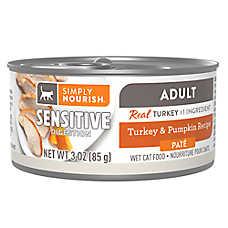 Simply Nourish® Sensitive Digestion Adult Pate Wet Cat Food - Natural