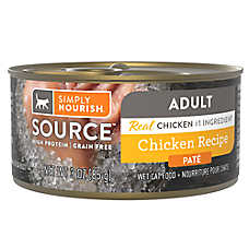 Simply Nourish® SOURCE ™ Pate Wet Cat Food - Natural, High Protein, Grain Free