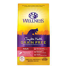 Wellness® Complete Health Adult Cat Food - Natural, Grain Free, Salmon