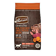 Merrick® Real Texas Beef Adult Dog Food - Natural, Grain Free