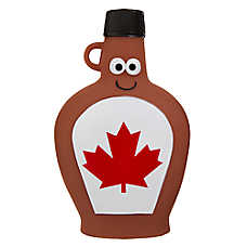 Top Paw® Canada Day Maple Syrup Dog Toy - Squeaker