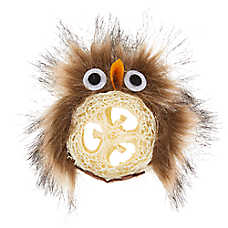 Whisker City® Loofah Owl Cat Toy