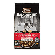 Merrick® Backcountry® Great Plains Red Recipe Adult Dog Food - Grain Free, High Protein, Raw