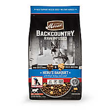 Merrick® Backcountry® Hero's Banquet Dog Food - Grain Free, High Protein, Raw