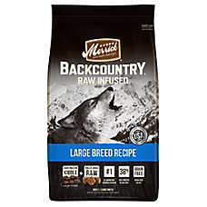 Merrick® Backcountry® Large Breed Recipe Adult Dog Food - Grain Free, High Protein, Raw