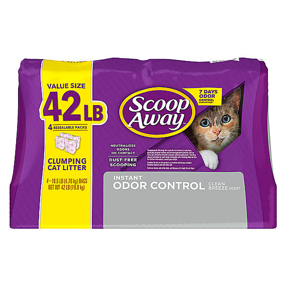 Scoop Away 174 Extra Strength Cat Litter Clumping Low Dust