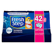 Fresh Step® with Febreze Extreme Cat Litter - Clumping, Mountain Spring