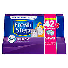 sale 2 / $36	Fresh Step® cat litter, 42 lb. bags