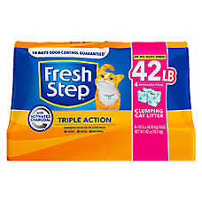 Fresh Step® Triple Action Cat Litter