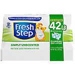 Fresh Step® Ultra Unscented Cat Litter - Clumping, Multi-Cat