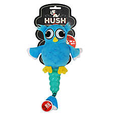 Hush™ Plush Owl Dog Toy - Plush, Squeaker