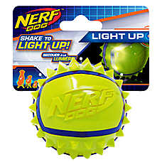 Nerf™ Dog Light-Up Spike Ball Dog Toy
