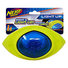 Nerf™ Megaton Light-Up Football Dog Toy - Squeaker