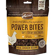 Merrick® Power Bites® Soft + Chewy Dog Treats - Grain Free, Natural