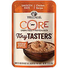 Wellness® CORE® Tiny Tasters Wet Cat Food - Natural, Grain Free, Single Serve