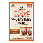 Wellness® CORE® Tiny Tasters Wet Cat Food Variety Pack- Natural, Grain Free, Land Variety