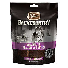 Merrick® Backcountry® Real Pattie Dog Treats - Grain Free, Natural