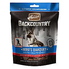 Merrick® Backcountry® Hero's Banquet Dog Treats - Grain Free, Natural