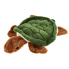 Top Paw® Realistic Turtle Dog Toy - Plush, Squeaker