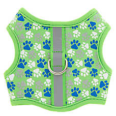 Top Paw® Paws Reflective Vest Dog Harness