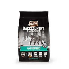 Merrick® Backcountry ™ Game Bird Cat Food - High Protein, Raw, Grain Free